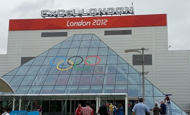 ExCel looks all Olympic-y
