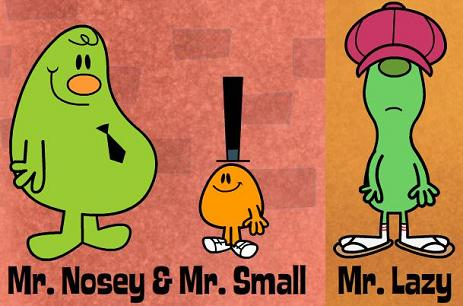 Not Mr. Men